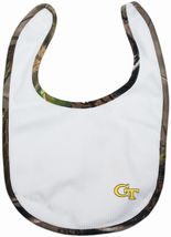 Georgia Tech Yellow Jackets Realtree Camo Newborn Bib