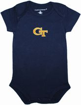 Georgia Tech Yellow Jackets Newborn Infant Bodysuit