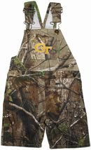 Georgia Tech Yellow Jackets Realtree Camo Long Leg Overall