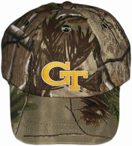 Georgia Tech Yellow Jackets Realtree Camo Baseball Cap