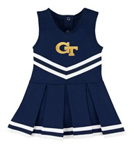 Georgia Tech Yellow Jackets Cheerleader Bodysuit Dress