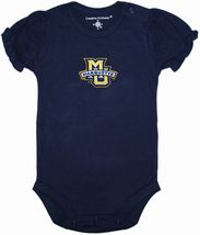 Marquette Golden Eagles Puff Sleeve Bodysuit