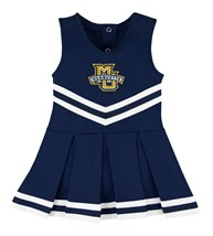 Marquette Golden Eagles Cheerleader Bodysuit Dress