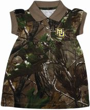 Marquette Golden Eagles Realtree Camo Polo Dress