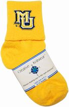 Marquette Golden Eagles Anklet Socks