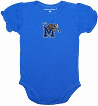 Memphis Tigers Puff Sleeve Bodysuit