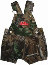Ole Miss Rebels Realtree Camo Short Leg Overall
