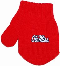 Ole Miss Rebels Acrylic/Spandex Mitten
