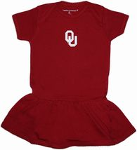 Oklahoma Sooners Picot Bodysuit Dress