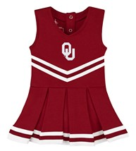Oklahoma Sooners Cheerleader Bodysuit Dress