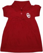 Oklahoma Sooners Polo Dress w/Bloomer