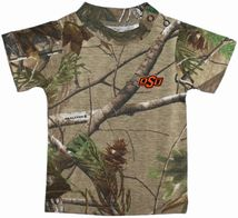 Oklahoma State Cowboys Realtree Camo Short Sleeve T-Shirt
