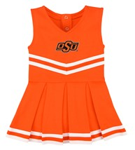 Oklahoma State Cowboys Cheerleader Bodysuit Dress