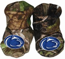 Penn State Nittany Lions Realtree Camo Baby Bootie