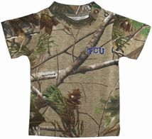 TCU Horned Frogs Realtree Camo Short Sleeve T-Shirt