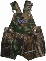 TCU Horned Frogs Realtree Camo Short Leg Overall