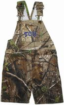TCU Horned Frogs Realtree Camo Long Leg Overall