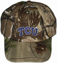 TCU Horned Frogs Realtree Camo Baseball Cap