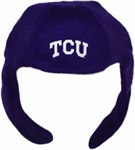 TCU Horned Frogs Chin Strap Beanie