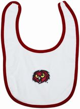 Temple Owls Newborn Bib