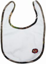 Temple Owls Realtree Camo Newborn Bib