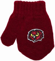 Temple Owls Acrylic/Spandex Mitten