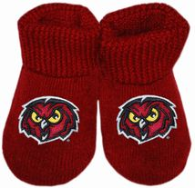 Temple Owls Gift Box Baby Bootie