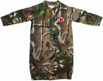 "Utah Utes Realtree Camo ""Convertible"" Gown (Snaps into Romper)"