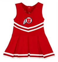 Utah Utes Cheerleader Bodysuit Dress