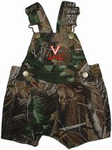 Virginia Cavaliers Realtree Camo Short Leg Overall