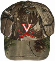 Virginia Cavaliers Realtree Camo Baseball Cap