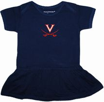 Virginia Cavaliers Picot Bodysuit Dress