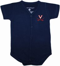 Virginia Cavaliers Front Snap Newborn Bodysuit