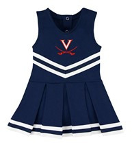 Virginia Cavaliers Cheerleader Bodysuit Dress