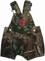 Washington State Cougars Realtree Camo Short Leg Overall