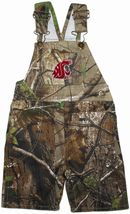 Washington State Cougars Realtree Camo Long Leg Overall