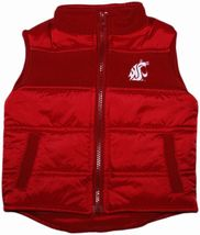Washington State Cougars Puffy Vest