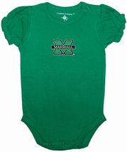 Marshall Thundering Herd Puff Sleeve Bodysuit