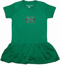 Marshall Thundering Herd Picot Bodysuit Dress