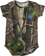 Air Force Falcons Realtree Camo Newborn Infant Bodysuit