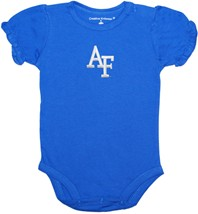 Air Force Falcons Puff Sleeve Bodysuit