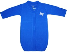 Air Force Falcons Newborn Gown