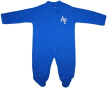 Air Force Falcons Footed Romper