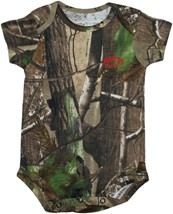 Boston University Terriers Realtree Camo Newborn Infant Bodysuit