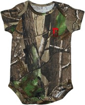 Brown Bears Realtree Camo Newborn Infant Bodysuit