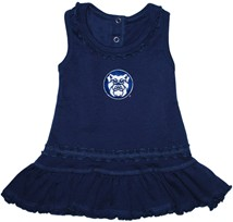 Butler Bulldogs Ruffled Tank Top Dress