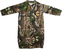 "Carroll College Fighting Saints Realtree Camo ""Convertible"" Gown (Snaps into Rom"
