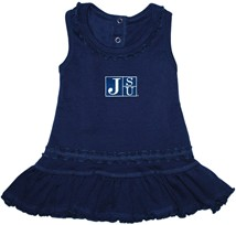 Jackson State Tigers JSU Ruffled Tank Top Dress