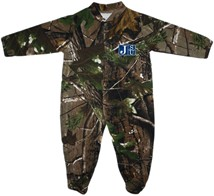Jackson State Tigers JSU Realtree Camo Footed Romper