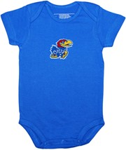 Kansas Jayhawks Newborn Infant Bodysuit